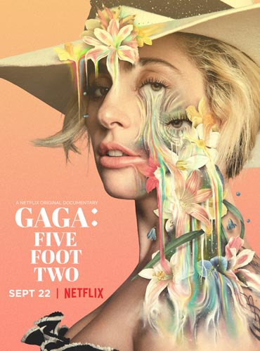 GAGA: FIVE FOOT TWO Movie Poster