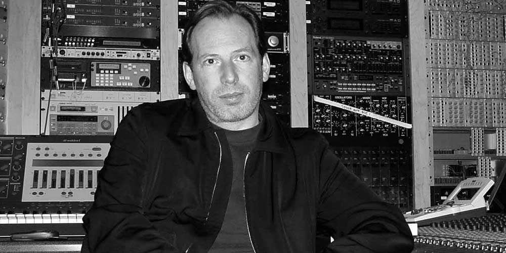 Hans Zimmer in recording studio