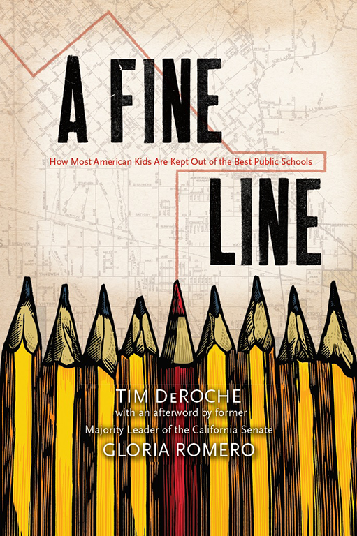 Tim DeRoche talks about his new book A Fine Line: How Most American Kids Are Kept Out of the Best Public Schools