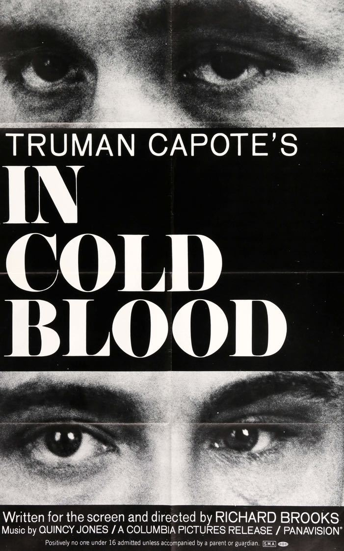 IN COLD BLOOD movie poster