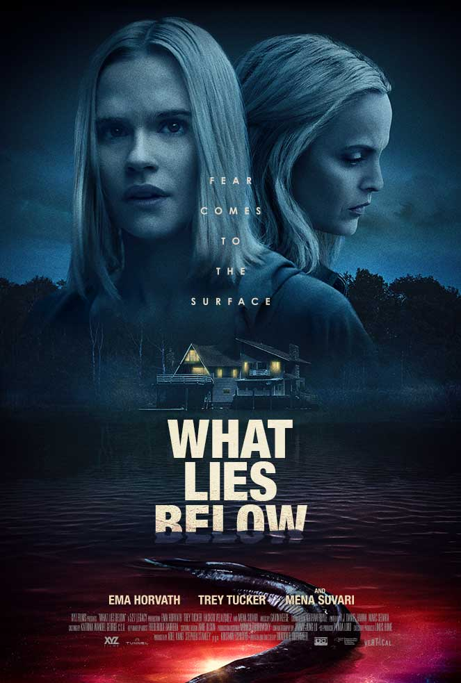 WHAT LIES BELOW movie poster
